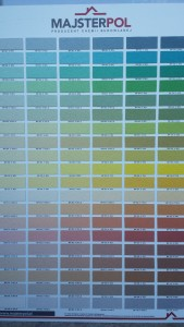 paleta kolorów tynków